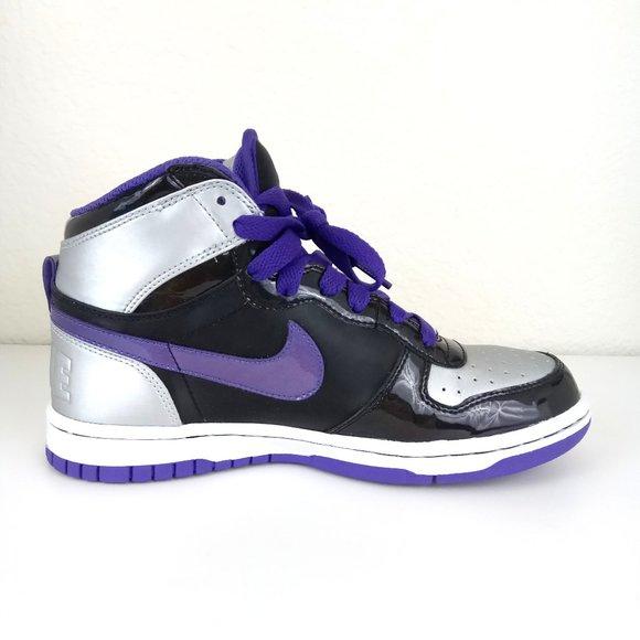 Nike | Purple & Black High Tops Sneakers